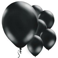 schwarze Ballons
