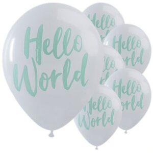 Hello World Latexballons