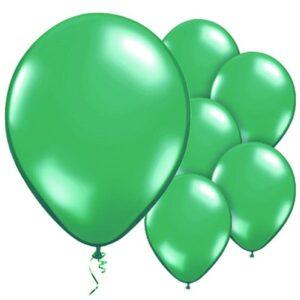 Grüne Ballone