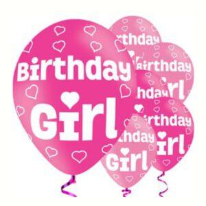 "Ballons ""Birthday Girl"""