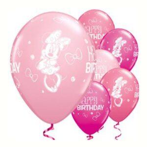 Minnie Maus Ballons