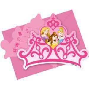 Disney Prinzessinnen Einladungen