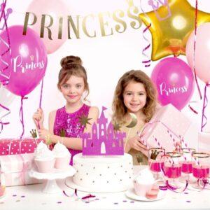 pink gold ballon girlande