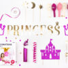 Prinzessinnen Box gold pink