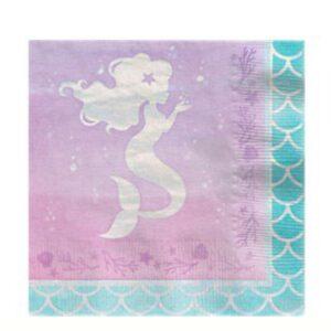 Meerjungfrauen Servietten