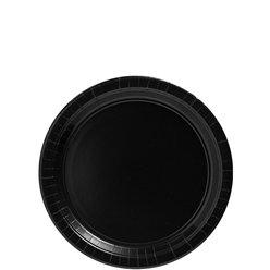 schwarzer Pappteller