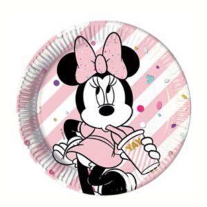 Minnie Maus Pappteller 23cm