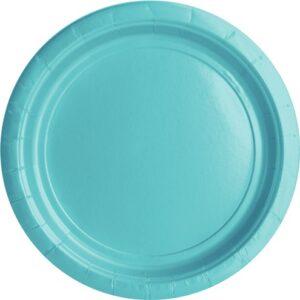 Blauer Teller
