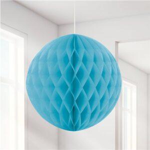 Blauer Wabenball