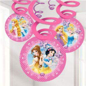 Disney Prinzessinnen Spiralgirlande